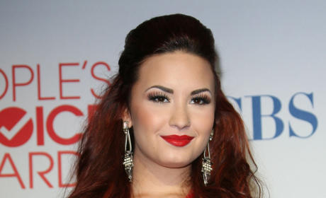Demi Lovato Hair Hullabaloo: Up or Down?