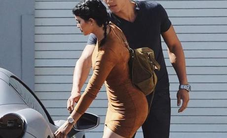Kylie Jenner With Her Bodyguard