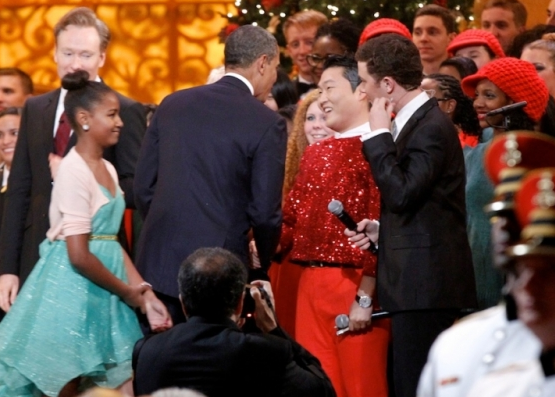 Obama Meets PSY