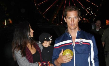Camila Alves and Matthew McConaughey Struggle to Find Nickname