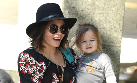 Jenna Dewan-Tatum and Daughter Everly in Studio City