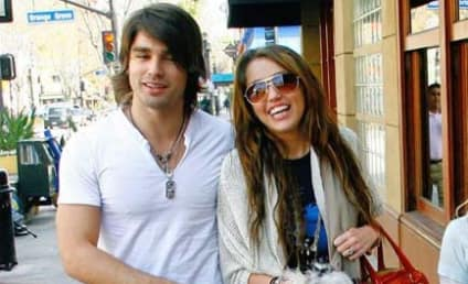 Miley Cyrus, Justin Gaston Shop For Food, Attention