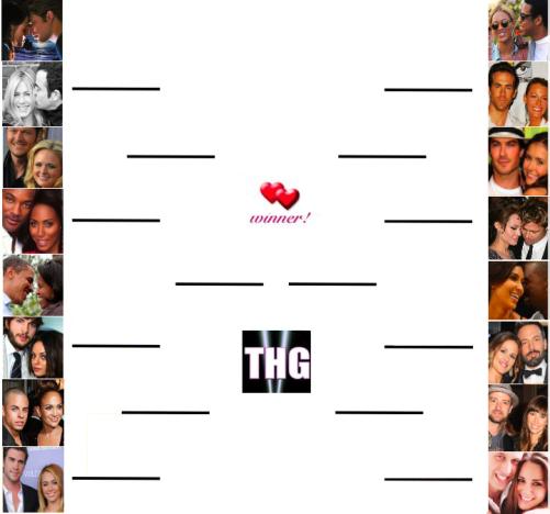 THG Couples Bracket 2013