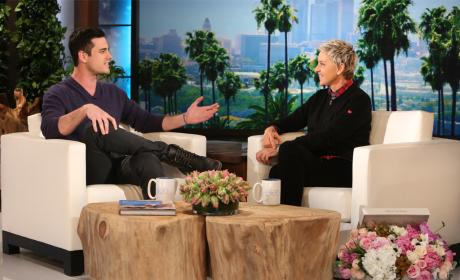 Ben Higgins on Kissing Many Women: EWWWW!