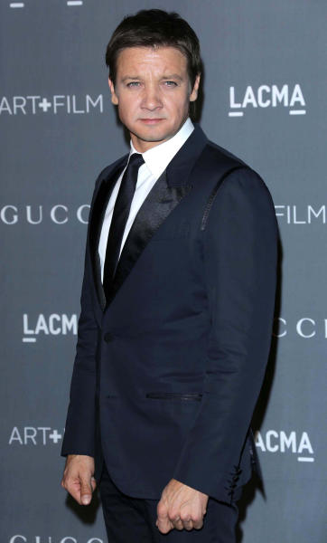 Jeremy Renner on the Red Carpet