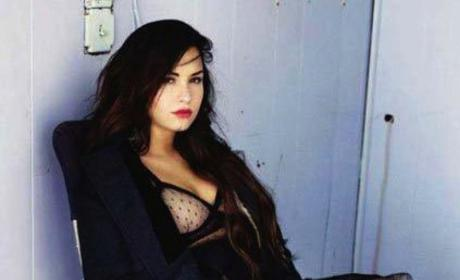 Demi Lovato Elle Photo