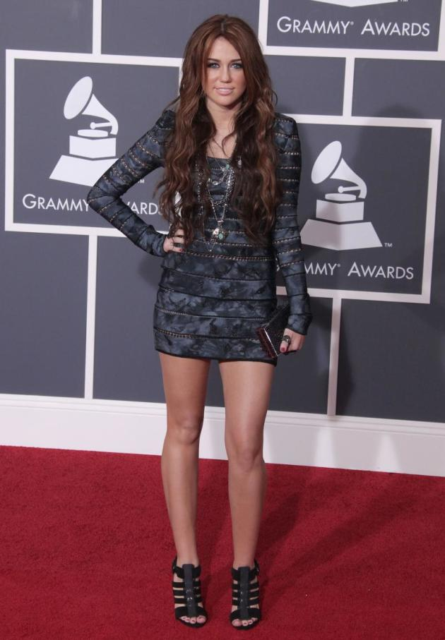 Miley at the Grammys