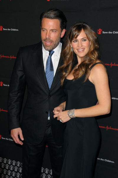 Ben Affleck, Jennifer Garner Red Carpet Image