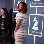 Rihanna at the Grammys