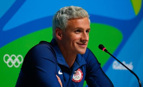 Ryan Lochte Smirk Photo