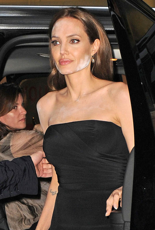 Angelina jolie movie premiere fail