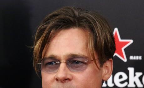 Brad Pitt at Big Short Premiere