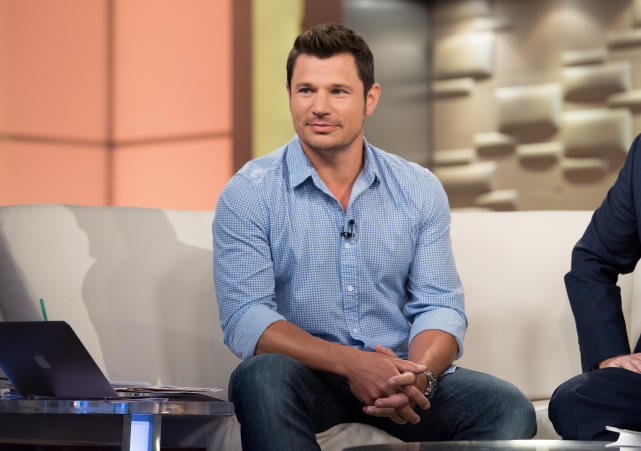 Nick lachey visits fox and friends