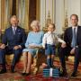 Prince George Poses With Her Majesty, Looks Jolly as Heck