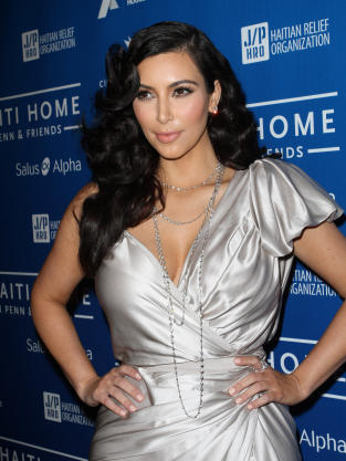 Kim Kardashian for Haiti