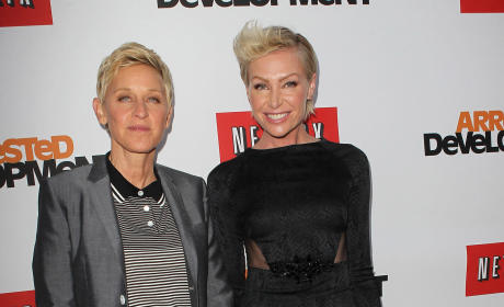 Portia de Rossi Videotaped Drunken Fights With Ellen DeGeneres?!