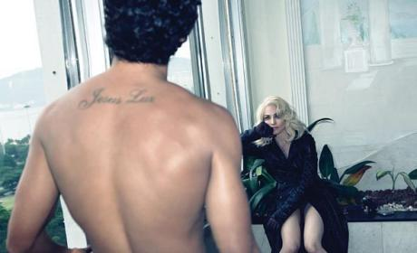 Madonna and Jesus Luz Heat Up W Magazine