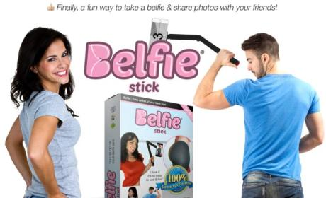 Belfie Stick: Actually a Thing That Exists! Not Just For Kim Kardashian Anymore!