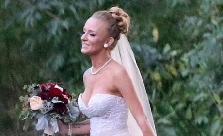 Maci Bookout Wedding Photo