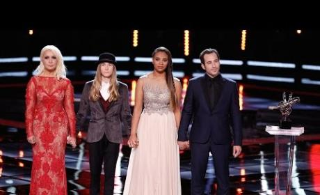 The Voice Season 8 Winner Announced