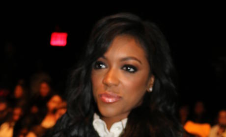 Porsha Williams at Fashion Week