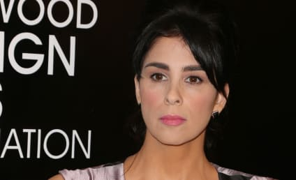 Sarah Silverman Flaunts Major Cleavage, Sparks Breast Implant Rumors