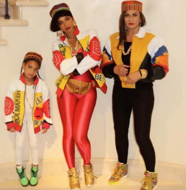 Beyonce as salt or pepa