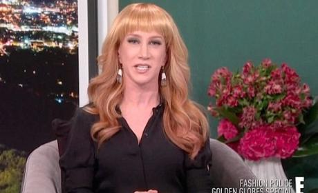 Kathy Griffin on E!