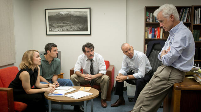 Best original screenplay spotlight