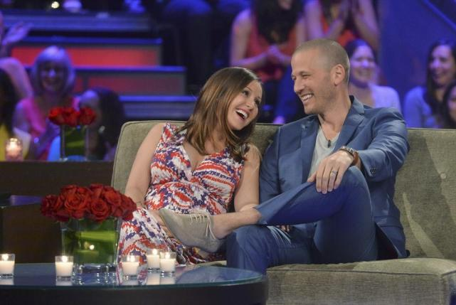 Ashley Hebert and JP Rosenbaum
