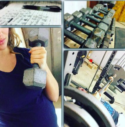 Jessa Duggar Workout