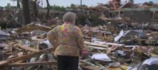 Tornado Survivor Finds Dog Alive