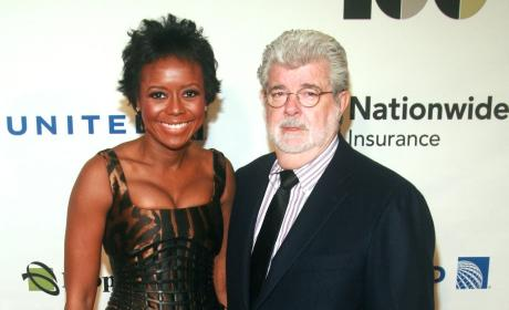 George Lucas: Engaged to Mellody Hobson!
