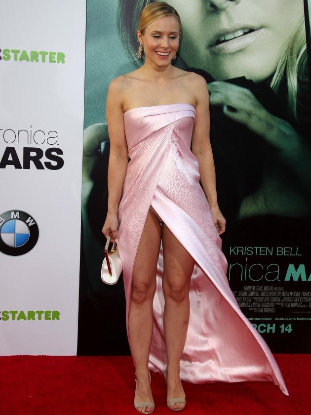 Kristen Bell Wardrobe Malfunction