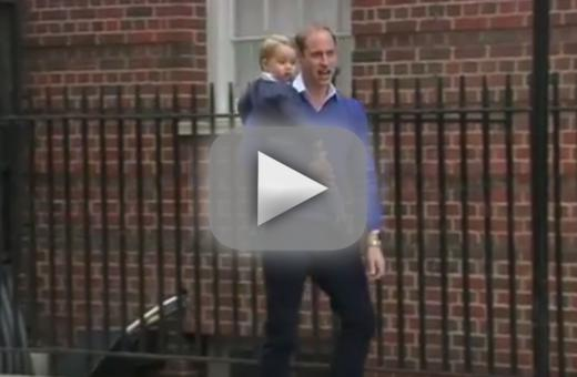 Kensington palace to prince george stalkers photographers stop i