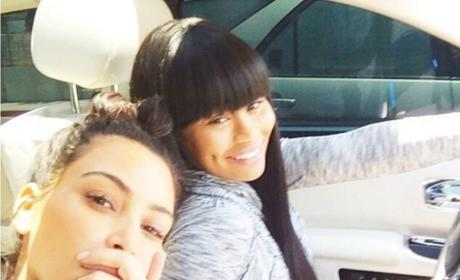 Kim Kardashian and Blac Chyna: Joining Forces To Do WHAT?!