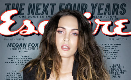 Megan Fox in Esquire: HOT, Anti-Lindsay Lohan, Pro-Church