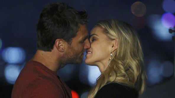 Juan Pablo Galavis and Clare Crawley on The Bachelor. These two have