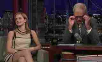 Emma Watson Flashes Underwear, Sense of Humor