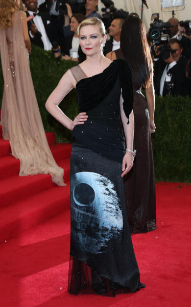 Kirsten Dunst Star Wars Dress