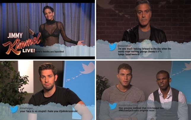 Celebrities read more mean tweets