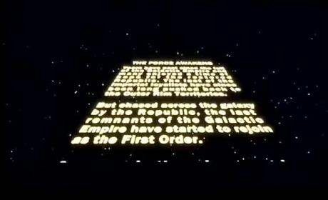 Star Wars: The Force Awakens Opening Scene