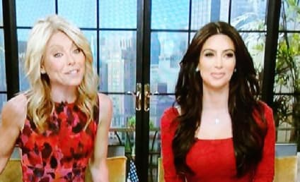 "Kim Kardashian Co-Hosts Live with Kelly, Refers to Divorce as ""Bad Business Decision"""