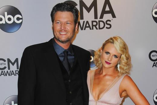 Miranda Lambert and Blake Shelton Image