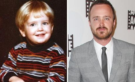 Aaron Paul as a Kid