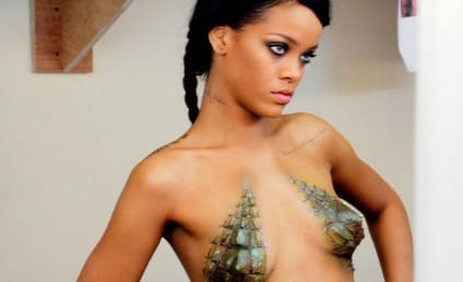 Rihanna: Naked, Scaly on Facebook