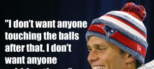 Tom Brady VEHEMENTLY Denies Role in DeflateGate