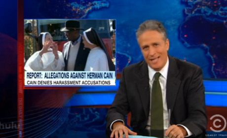 Jon Stewart Goes Off on Herman Cain