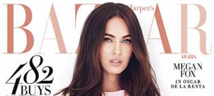 Megan Fox Harper's Bazaar Cover