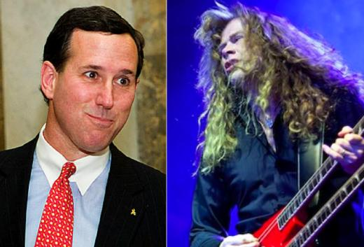Santorum, Megadeth